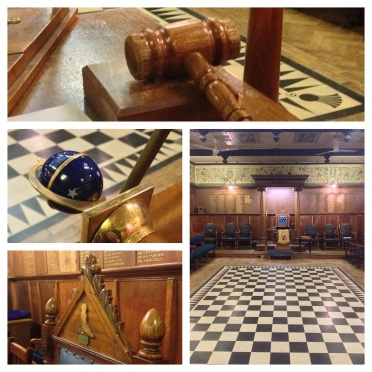 Montage of scenes at  Staines Masonic Hall